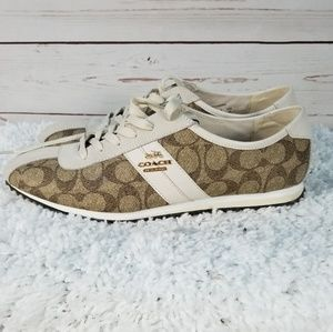 Authentic Coach Ivy Signature Sneakers Size 10